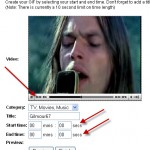Crea Gif Animate con i Video di YouTube