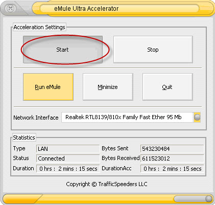emule accelleretor eMule Ultra Accelerator software Gratis per velocizzare il Download dei file