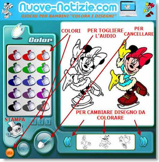 Programma per colorare disegni per bambini
