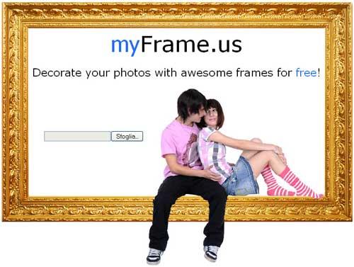 Cornici online per le tue fotografie nuove notizie for Foto cornici online