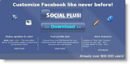 socialplus facebook Come personalizzare Facebook con Social Plus