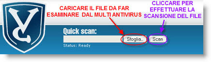 VirusChief multi Antivirus online gratis VirusChief
