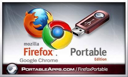 chrome firefox Firefox e Chrome portable nella pennetta USB