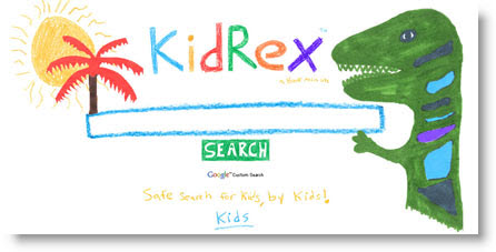 """kidRex: motore di ricerca """"sicuro"""" per bambini Kidrex-motore-bambini"""