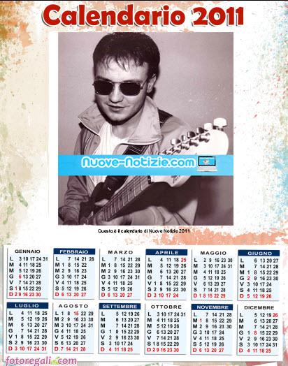 Crea il calendario 2011 personalizzato con una tua fotografia