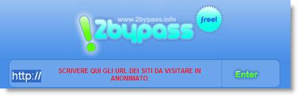 2bypass per navigare sul web in completo anonimato