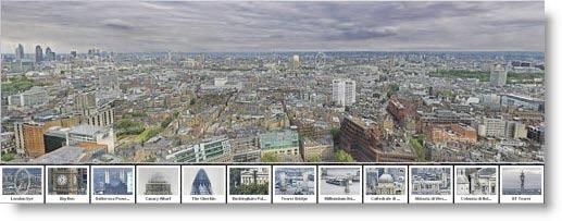 Fotografia panoramica navigabile di Londra in ben 80 Gigapixel