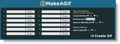 Makeagif: crea gif animate con le tue fotografie