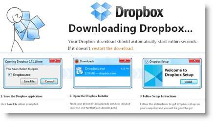 DropBox: il tuo hard disck remoto gratis per salvare i tuoi file online
