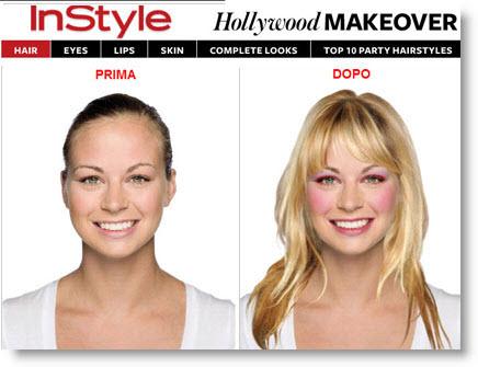 Instyle: provare acconciature e make-up sulle tue fotografie
