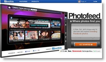 Pixable: come organizzare tutti gli album fotogrfici dei tuoi amici di Facebook in un unica pagina