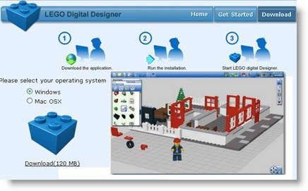 LEGO Digital Designer: giocare con le costruzioni lego virtualmente