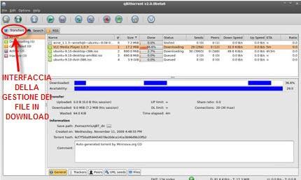 qbittorrent client bittorrent erede di e-mule