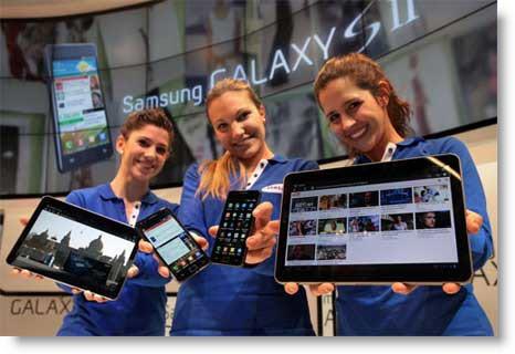 News: presentati i nuovi Samsung Galaxy S2 e Galaxy Tab 10.1