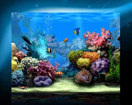 acquario virtuale per desktop