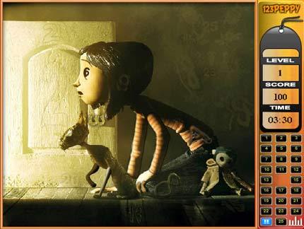 Game: Coraline e la porta magica gioco online