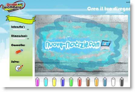 Arte: crea Graffiti e Murales online