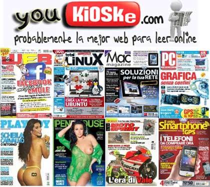 Youkioske: Leggi le tue riviste preferite gratis online