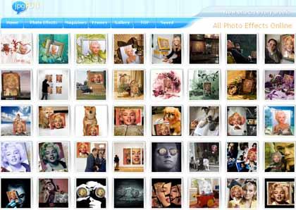 jJpgfun: fotomontaggi, cornici e copertine di riviste sulle tue foto