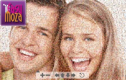 Crea un mosaico online con le tue fotografie
