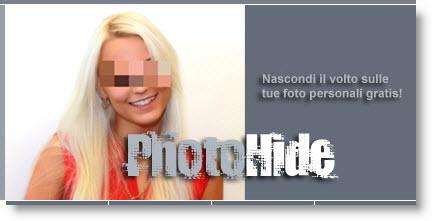 PhotoHide: nascondi il volto sulle fotografie
