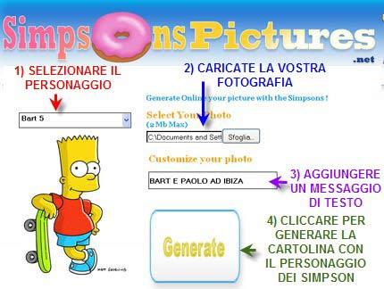 Metti i personaggi dei Simpson sulle tue foto