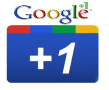+1 Google il bottone d'aggiungere al vostro sito