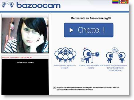 Bazoocam Dalla Random Chat Al Social Network