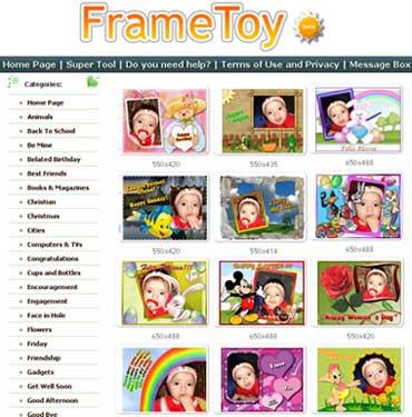 FrameToy: metti cornici sulle tue fotografie