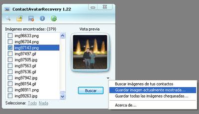 ContactAvatarRecovery1 Hacker MSN: rubare le foto dei profili dei nostri contatti
