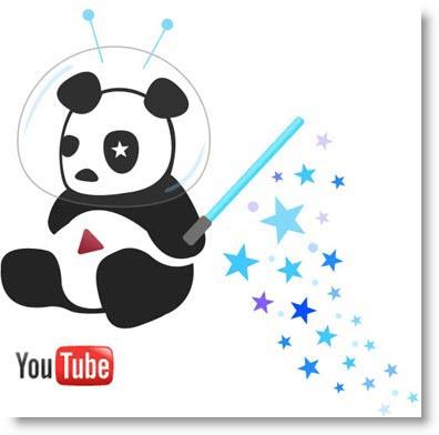 Cosmic Panda: nuova grafica per YouTube
