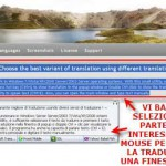 QTranslate: traduttore multilingue in un click