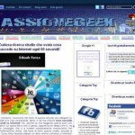 Passionegeek: blog di notizie informatiche provenienti dal web