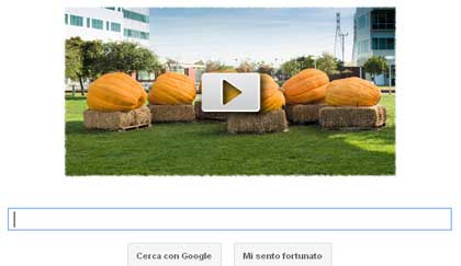 GoogleHalloween Google festeggia Halloween con un logo Video