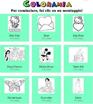 Colorania Disegni Per Bambini Da Far Colorare Online Nuove