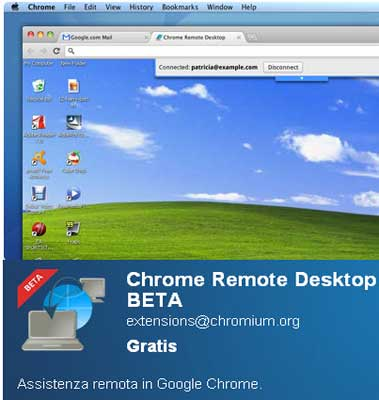 controlloremoto1 Chrome Remote Desktop: Controllo Remoto di un Pc tramite il Browser Chrome