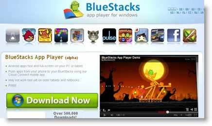 bluestacks Android sul proprio Pc.Bluestacks Emulatore Android