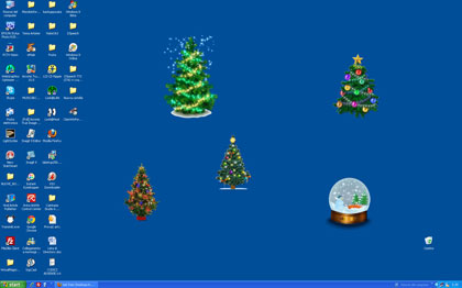 Immagini Natalizie Per Desktop Animate.Alberi Di Natale Animati Luccicanti Per Abbellire Il Vostro