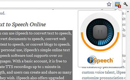 selectendspeak Select and Speak: metti la voce a Google Chrome