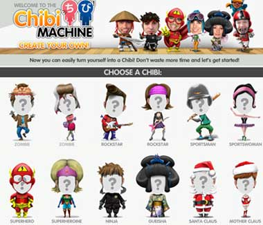 Chibi Machine: fotomontaggi divertenti personalizzabili