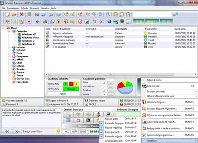 Sicurpas Freeware  4.0 Professional, un potentissimo password manager