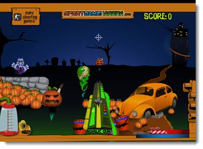 Gioco Halloween Shooter Night ....sparatutto