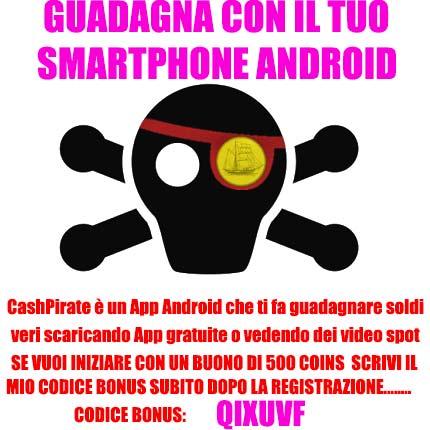 CashPirate: Guadagnare soldi veri con un cellulare Android
