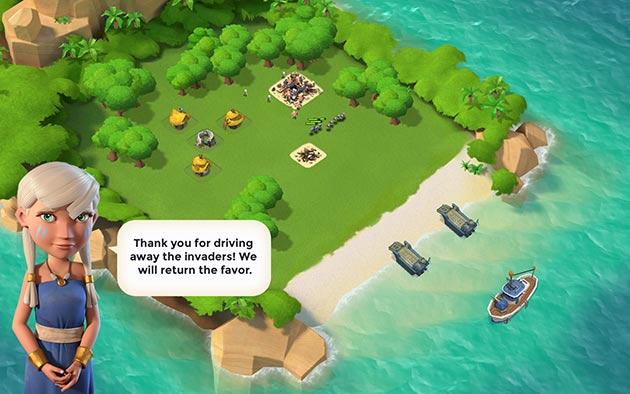 Boom Beach è il nuovo interessanti strategico per Iphone e Android sviluppato da Supercell