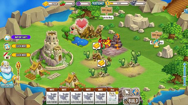 Dragon City: il simulatore di draghi più avvincente!