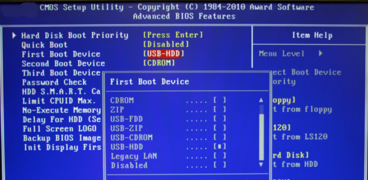 Intel non supporterà più il Legacy BIOS entro il 2020