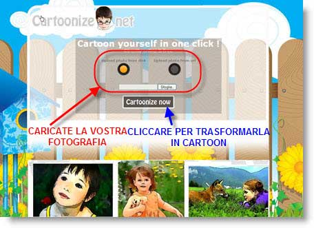 Trasforma le tue fotografie in colorati cartoon