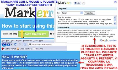 Markerr: traduttore online a portata di mouse