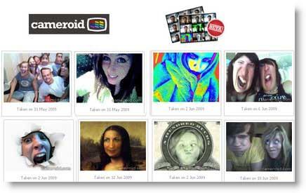 Cameroid: come scattare foto con la tua webcam in maniera divertente