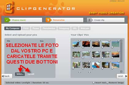 Come creare slideshow con le vostre foto
